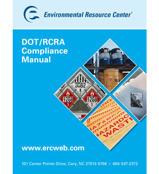 ERC - DOT/RCRA Compliance Manual